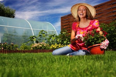 Summer gardening photo