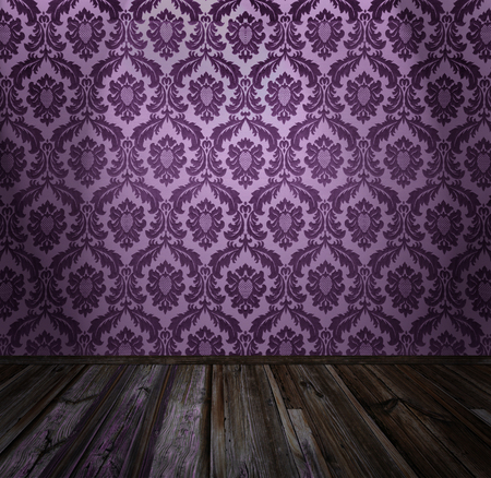 baroque wallpaper: Vintage room interior, similar available in my portfolio Stock Photo