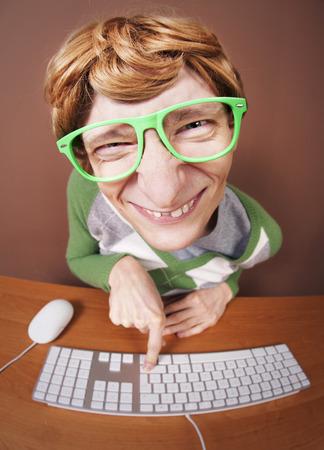 funny guy: Funny guy � l'ordinateur