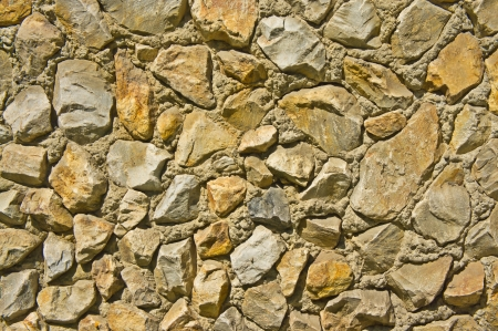stratification: texture of a stone wall  can be used as background