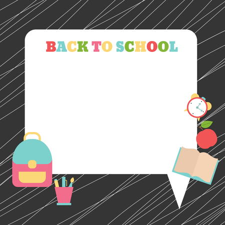 Back to school. Background with place for your text.