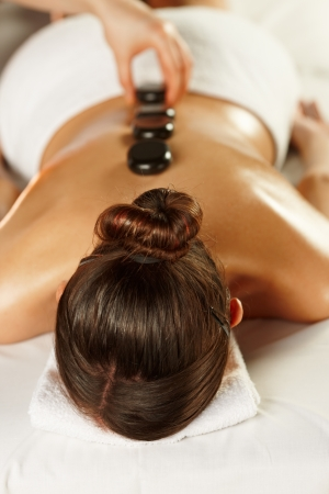 Spa stones therapy Imagens