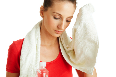 Cleaning sweat photo