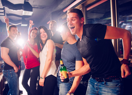 Party people Stock Photo