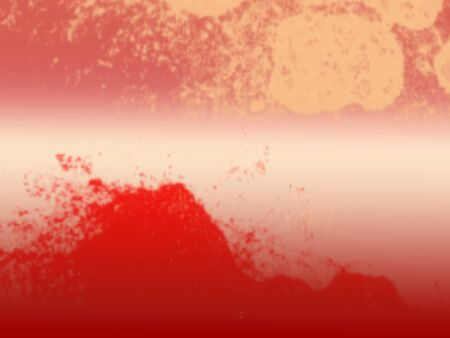 Red texture abstract image on white background
