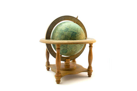 old antique globe photo