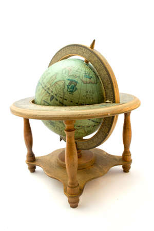 old atique globe photo
