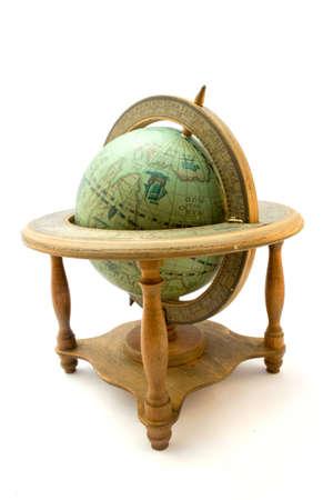 old atique globe photo