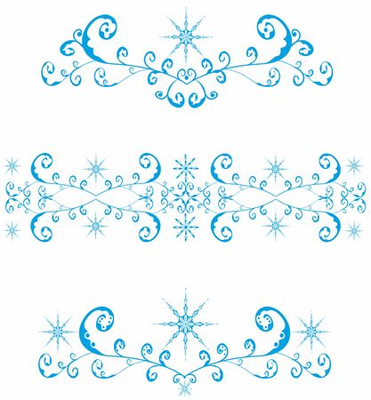 Repeated elements decorative pattern. Editable and scalable vector