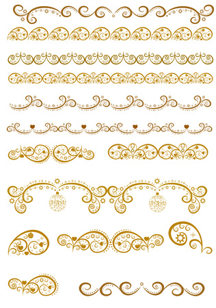 Schönes Illustrationsgrenzdesign. Standard-Bild - 91954213