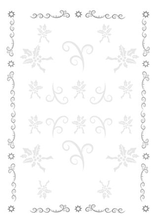 The frame for congratulations on Christmas background