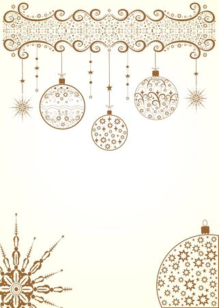 Beautiful editable vector illustration with original decorative elements