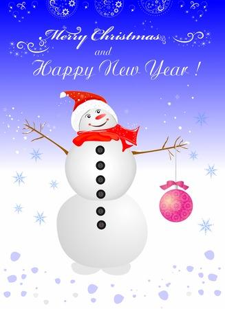 Beautiful editable vector illustration of Christmas decorative elements