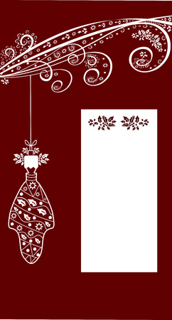 Winter festive background for congratulation editable and scalable vector illustration