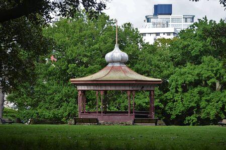 Pavillon in the park