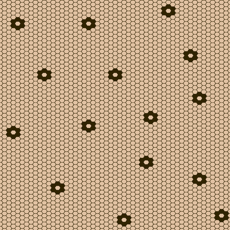Vector Fishnet pattern in ornamental style. Set vector seamless pattern stockings kapron pattern