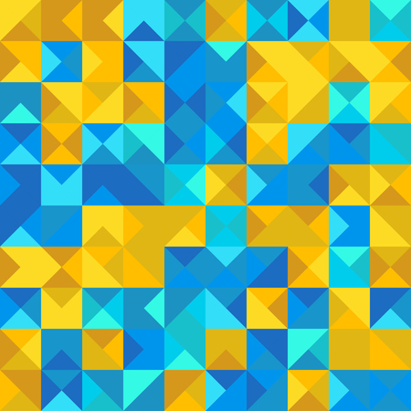 Abstract blue and yellow background. Çizim