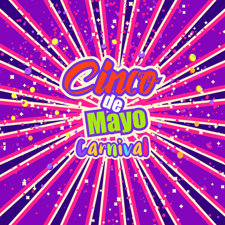 cinco de mayo celebration in mexico design element poster greeting card or brochure