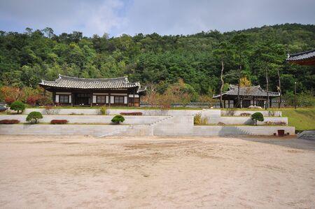 pavillion: korea pavillion with reflect