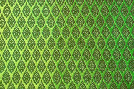 Thai silk pattern photo