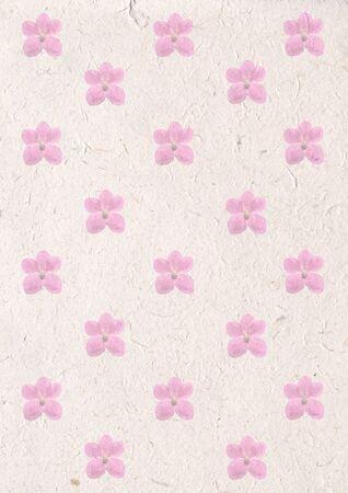 bella flor orqu�dea en papel reciclado artesanal, el concepto de la ecolog�a con la orqu�dea en reciclaje de papel