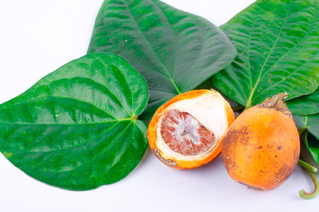 Betel nut and betel