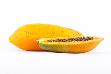 熟したパパイヤは、健康的なフルーツと栄養価の高い