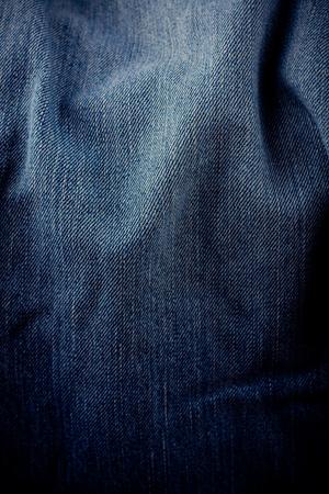 Old dark blue jeans texture denim jeans texture denim jeans background Stock Photo