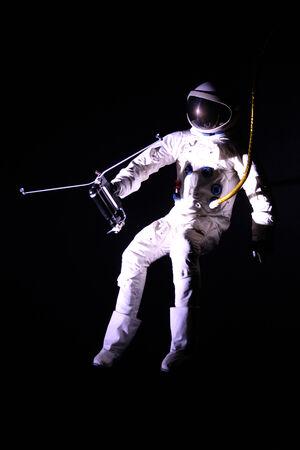 spacesuit: Astronaut in a spacesuit