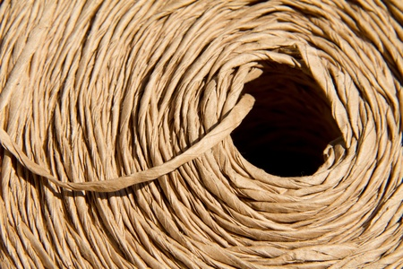Spool of paper string photo