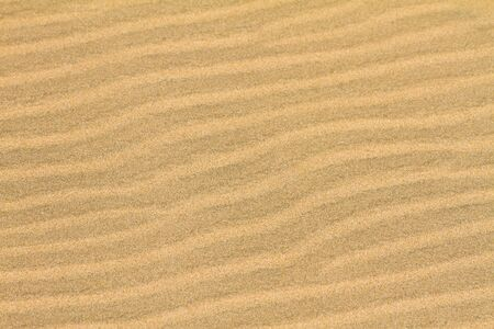 suelo arenoso: Sand ripples backgroung Foto de archivo