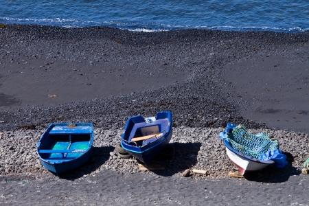 lanzarote: El Golfo lagoon Lanzarote island
