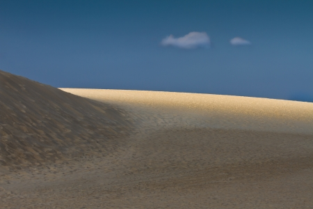 Corralejo sand dunes Fuerteventura Stock Photo