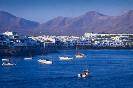 Playa Blanca port Lanzarote