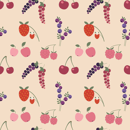 Colorful summer pattern Vector