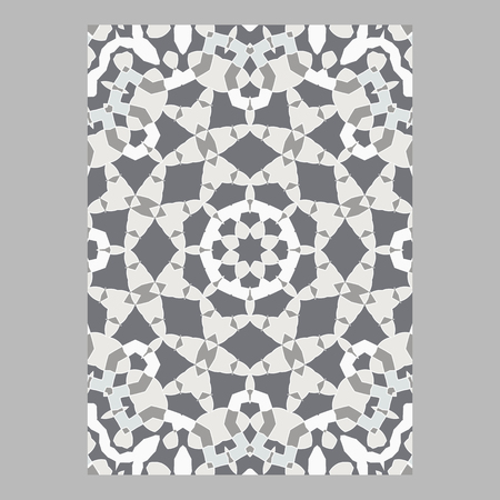 Oriental pattern for for greeting and business cards, brochures and covers Illustration