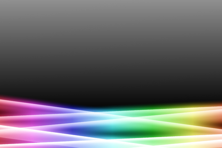 brilliancy: rainbow color bar on dark gray color abstract background. rainbow aura abstract background.