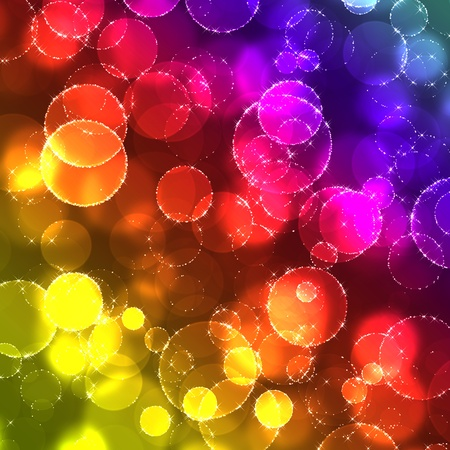digitally generated image: Shiny abstract background