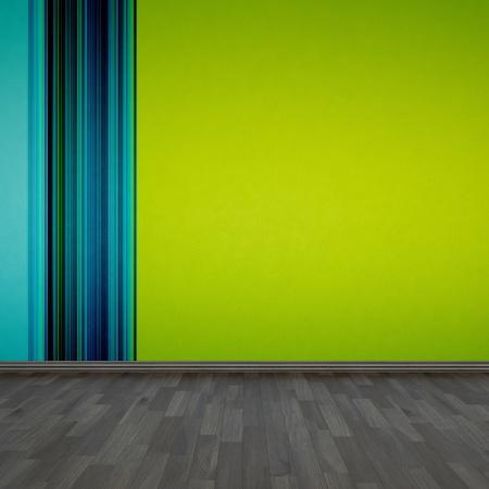 background wallpaper and wooden floor photo