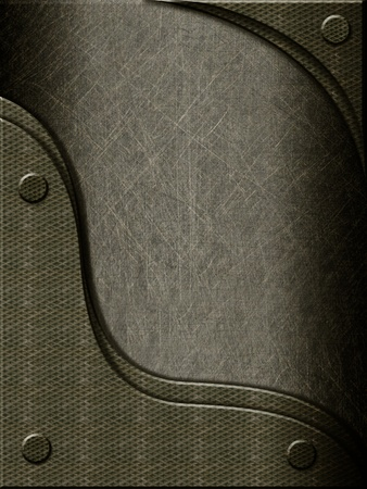 metal background with metal inserts Stock Photo - 9818954