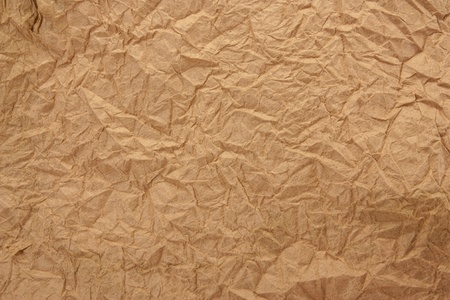 crushing: old wrinkled paper