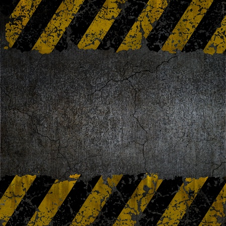 Warning background texture  photo
