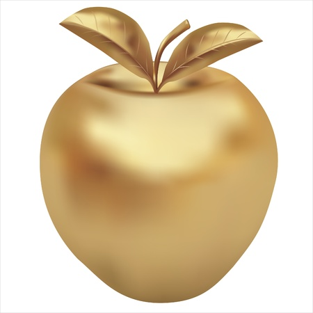 golden apple eps10 Vector