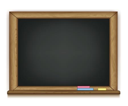chalk writing: school boardvector