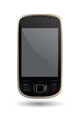 smart phonevector  Stock Vector - 11100926