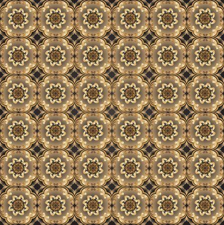 Seamless wallpaper pattern eps10 Stock Vector - 11100916