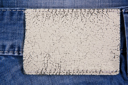 inset: Jeans background with inset