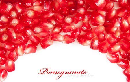 grenadine: background from the garnet grains