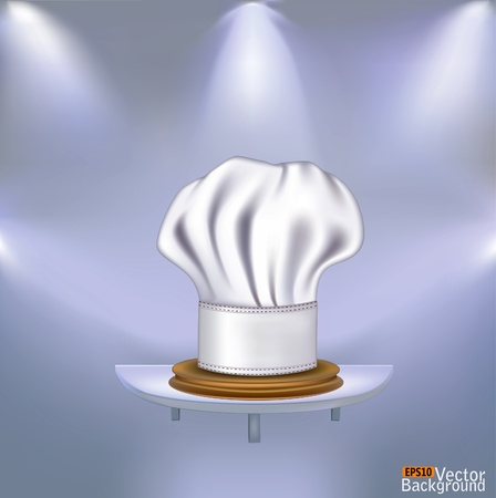 Hat chefs victorious in competitions Vector