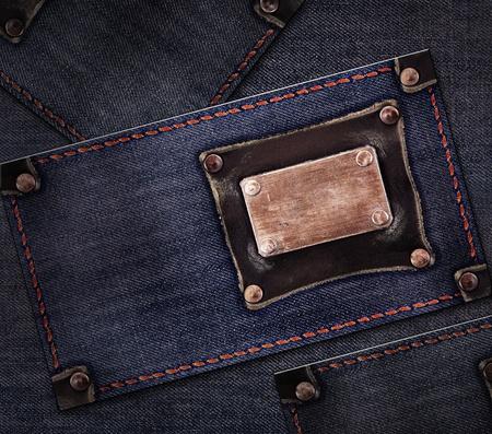 close button: Jeans background